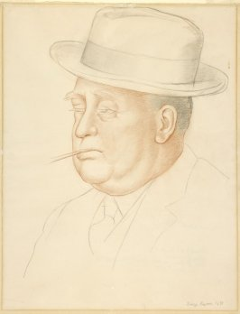 Portrait of Arthur Brown, Jr. (A study for the fresco at the California School of Fine Arts, now the San Francisco Art Institute)