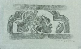 Rubbing from the Sarcophagus, Palenque
