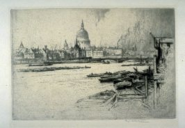 St. Paul's Cathedral from the River