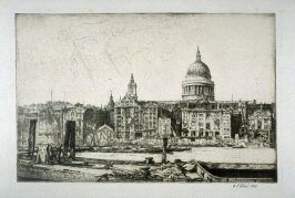 St. Paul's Dome from the Thames