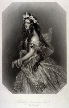The Lady Clementina Villiers As Ondine