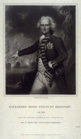 Alexander Hood, Viscount Bridport