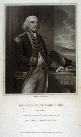 Richard First, Earl Howe