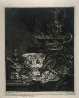 Still Life with Goblet, Ewer and Basin