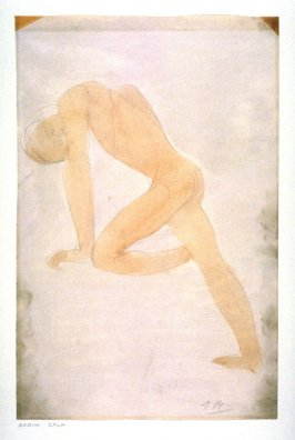 Male Nude , Leaning on Left Arm- non authentic