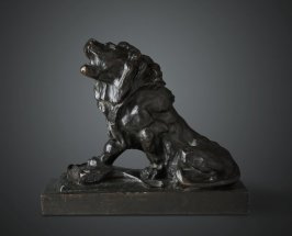 The Wounded Lion (Lion Blesse)
