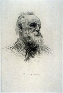 Victor Hugo, de trois quarts (Victor Hugo, Three-Quarters View)