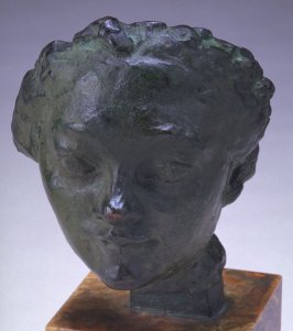 Mask of a Woman with a Turned- Up Nose
