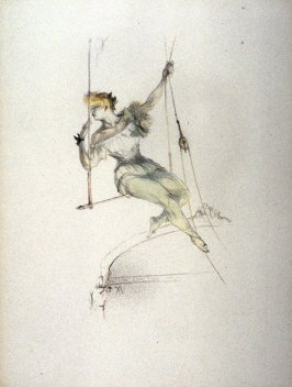 Trapeze Artist, pl. 20 from the portfolio, Le Cirque