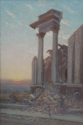 Ruin with Columns