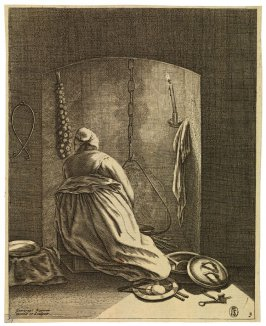 Woman Cooking, from the series Five Feminine Occupations