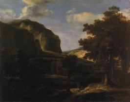 Mountain Landscape with Figures