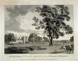 Knole Park in Kent, the Seat of his Grace the Duke of Dorset, one hundred ninth plate in the book The Copper Plate Magazine (London: G. Kearsly, 1778)