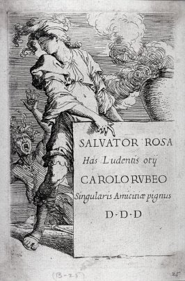 Frontispiece from the series Figurine
