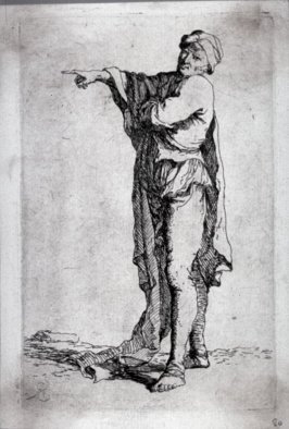 Man, Standing, his Arm Pointing Horizontally, from the series Figurine