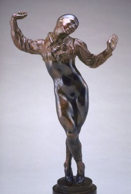 Nijinsky as Harlequin in Carnival