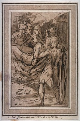 The Entombment, after a study by Parmigianino