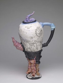 Contraption of Mankind Teapot