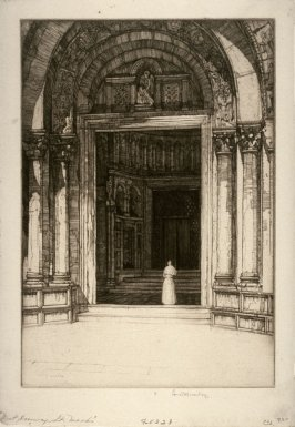 West Doorway, St. Marks