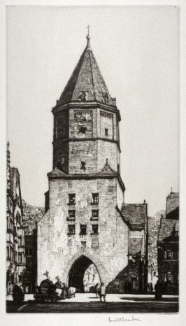 Augsburg Tower, Jacober Gate