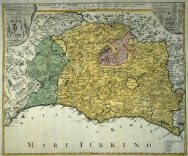 [Map of Spain and Italy]