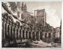 The Ruins of the Baths of Paolo Emilio at Trajan's Forum
