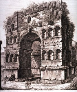 Veduta del Prospetto dell'Arco di Giano (View of the Arch of Janus)