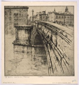 The Buttress, Ponte Trinita, Florence