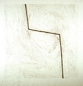 Untitled 2 (obscured head w/bent bar), unpublished