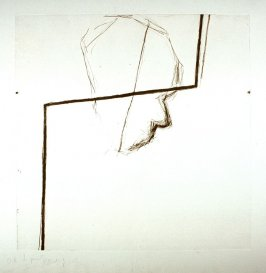 Untitled 3 (head w/bent bar), unpublished