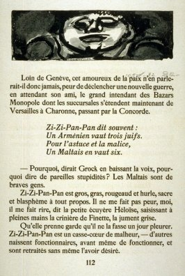 Zi-Zi-Pan-Pan from Cirque d'Etoile Filante published by Ambroise Vollard in 1938