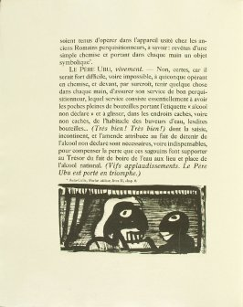 Untitled, pg. 16, in the book Réincarnations du Père Ubu (Paris: Ambroise Vollard, 1932)