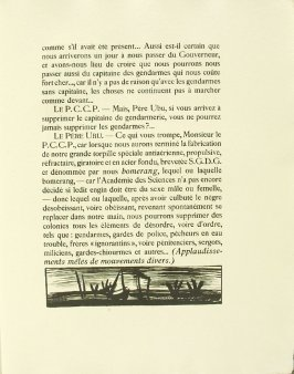 Untitled, pg. 27, in the book Réincarnations du Père Ubu (Paris: Ambroise Vollard, 1932)