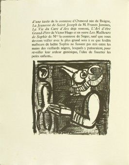 Untitled, pg. 48, in the book Réincarnations du Père Ubu (Paris: Ambroise Vollard, 1932)