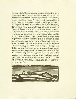 Untitled, pg. 55, in the book Réincarnations du Père Ubu (Paris: Ambroise Vollard, 1932)