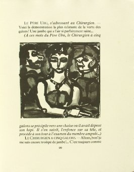 Untitled, pg. 99, in the book Réincarnations du Père Ubu (Paris: Ambroise Vollard, 1932)