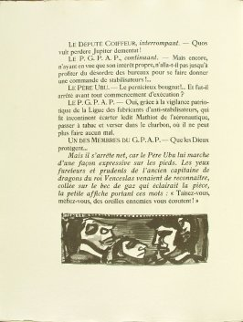 Untitled, pg. 110, in the book Réincarnations du Père Ubu (Paris: Ambroise Vollard, 1932)