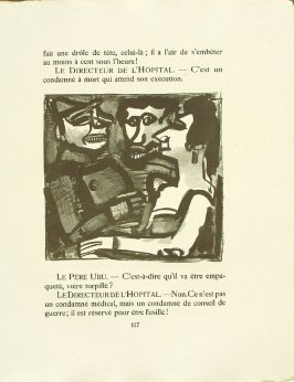 Untitled, pg. 117, in the book Réincarnations du Père Ubu (Paris: Ambroise Vollard, 1932)