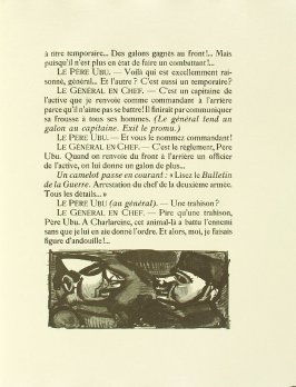Untitled, pg. 131, in the book Réincarnations du Père Ubu (Paris: Ambroise Vollard, 1932)