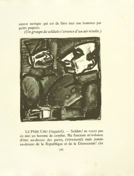 Untitled, pg. 135, in the book Réincarnations du Père Ubu (Paris: Ambroise Vollard, 1932)