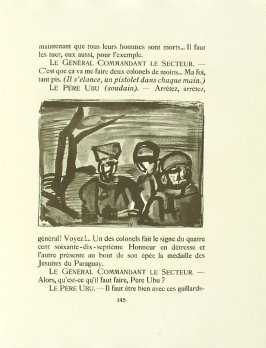 Untitled, pg. 145, in the book Réincarnations du Père Ubu (Paris: Ambroise Vollard, 1932)