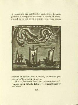 Untitled, pg. 153, in the book Réincarnations du Père Ubu (Paris: Ambroise Vollard, 1932)