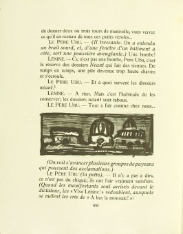 Untitled, pg. 166, in the book Réincarnations du Père Ubu (Paris: Ambroise Vollard, 1932)