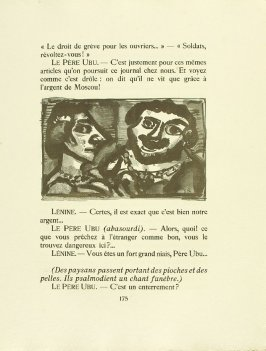 Untitled, pg. 175, in the book Réincarnations du Père Ubu (Paris: Ambroise Vollard, 1932)