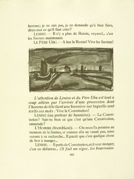 Untitled, pg. 180, in the book Réincarnations du Père Ubu (Paris: Ambroise Vollard, 1932)