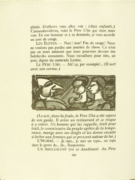 Untitled, pg. 188, in the book Réincarnations du Père Ubu (Paris: Ambroise Vollard, 1932)
