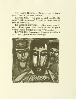 Untitled, pg. 193, in the book Réincarnations du Père Ubu (Paris: Ambroise Vollard, 1932)