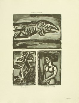 Untitled, plate I, in the book Réincarnations du Père Ubu (Paris: Ambroise Vollard, 1932)