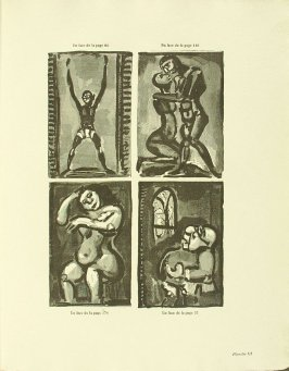 Untitled, plate III, in the book Réincarnations du Père Ubu (Paris: Ambroise Vollard, 1932)