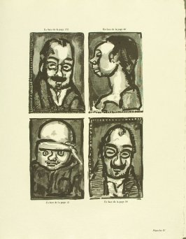 Untitled, plate IV, in the book Réincarnations du Père Ubu (Paris: Ambroise Vollard, 1932)